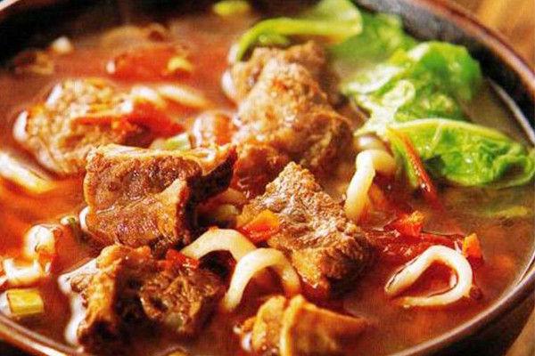 新农牛肉面卤汤的配方